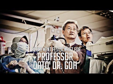 Retirement celebration for Prof Dato' KL Goh
