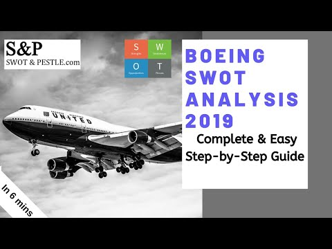 How To Do A SWOT Analysis For Boeing In 6 Mins?  Strengths, Weaknesses, Opportunities And Threats