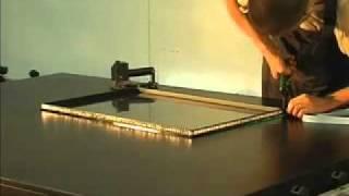 видео изготовление стеклопакетов