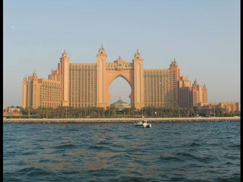 BOAT TRIP IN DUBAI  | DUBAI MARINA | ATLANTIS THE PALM