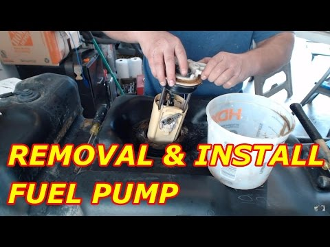 HOW TO REPLACE A CHEVY TAHOE FUEL PUMP