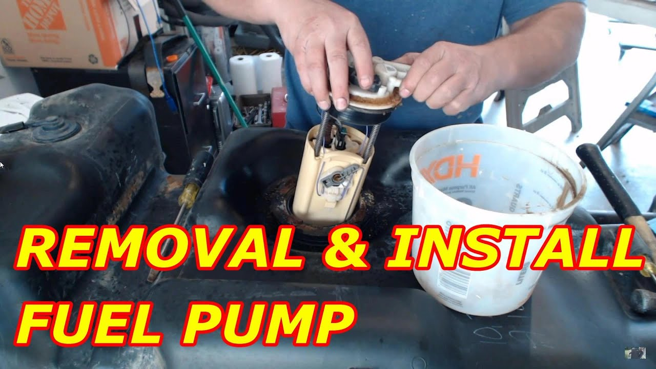 How To Replace A Chevy Tahoe Fuel Pump Youtube Carter Filters