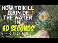 SEKIRO BOSS GUIDES - How To Easily Kill O'Rin of the Water in 60 Seconds!