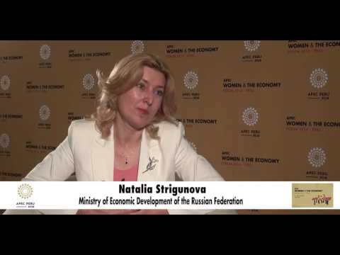 Interviews APEC WE Forum 2016: Ministry of Economic Development of the Russian Federation