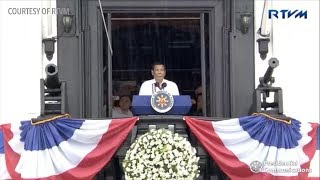 Duterte heckled during Independence Day 2018 rites