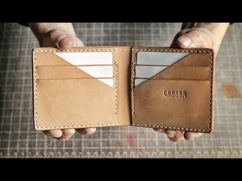 Making the Optical Illusion Bifold Wallet (WITH PATTERN!)