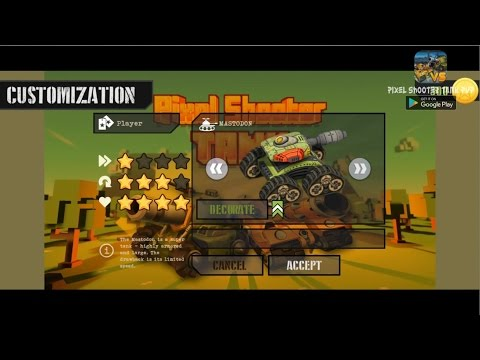 PIXEL SHOOTER TANK - Modern PvP ANDROID Mobile Game Trailer by PixelCraft