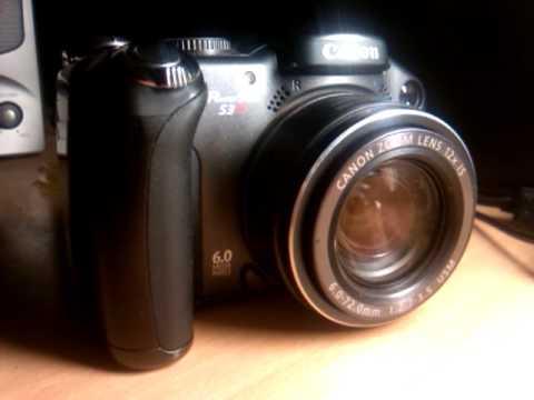 Canon PowerShot S3 iS Lens Error