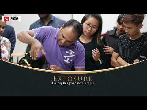 An Interactive Hair Cut session by Mr.Roger (Hair Expert Trainer)