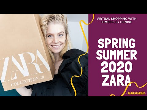 👗🛍️ Zara Haul - Spring/Summer 2020 Collection - Shop Up | Fashion Shopping Haul | Gaggler