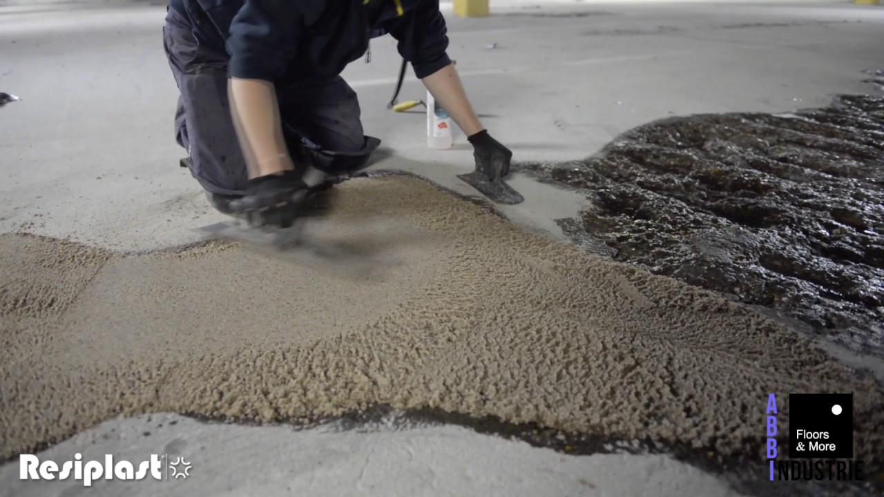 Resiplast Self Levelling Epoxy Screed Floor Altantic