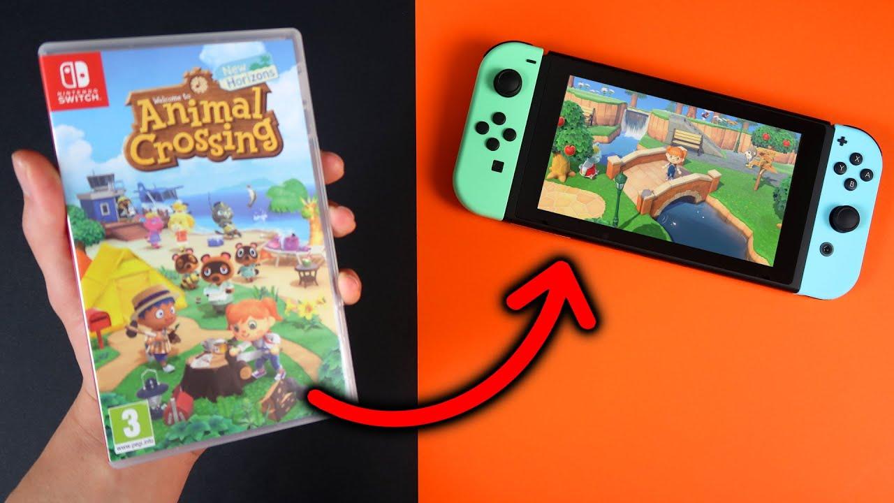así es el JUEGO de ANIMAL CROSSING New Horizons para Nintendo SWITCH ? UNBOXING y GAMEPLAY