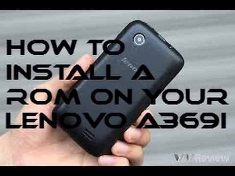 How to install a ROM on your Lenovo A369i