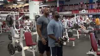 High Intensity Shoulders and Back Exercises with NPC Champion Doug Dolphin