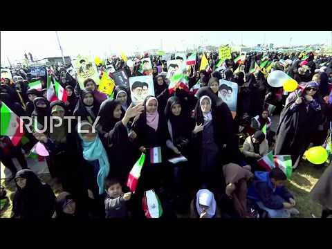 LIVE: Thousands celebrate in Tehran on 39th anniversary of the Islamic Revolution