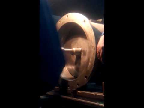 Near to grinding on WMW B80 BORING MACHINE