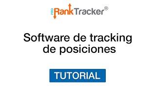 Pro Rank Tracker - Tracking de Posiciones y URLs - SEO - Español
