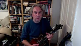 The Kid On The Mountain (slip jig) on mandolin