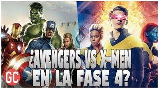 ¡INCREÍBLE! ¡Marvel Studios Tiene Planes Para Una Película De AVENGERS VS X-MEN En El UCM!