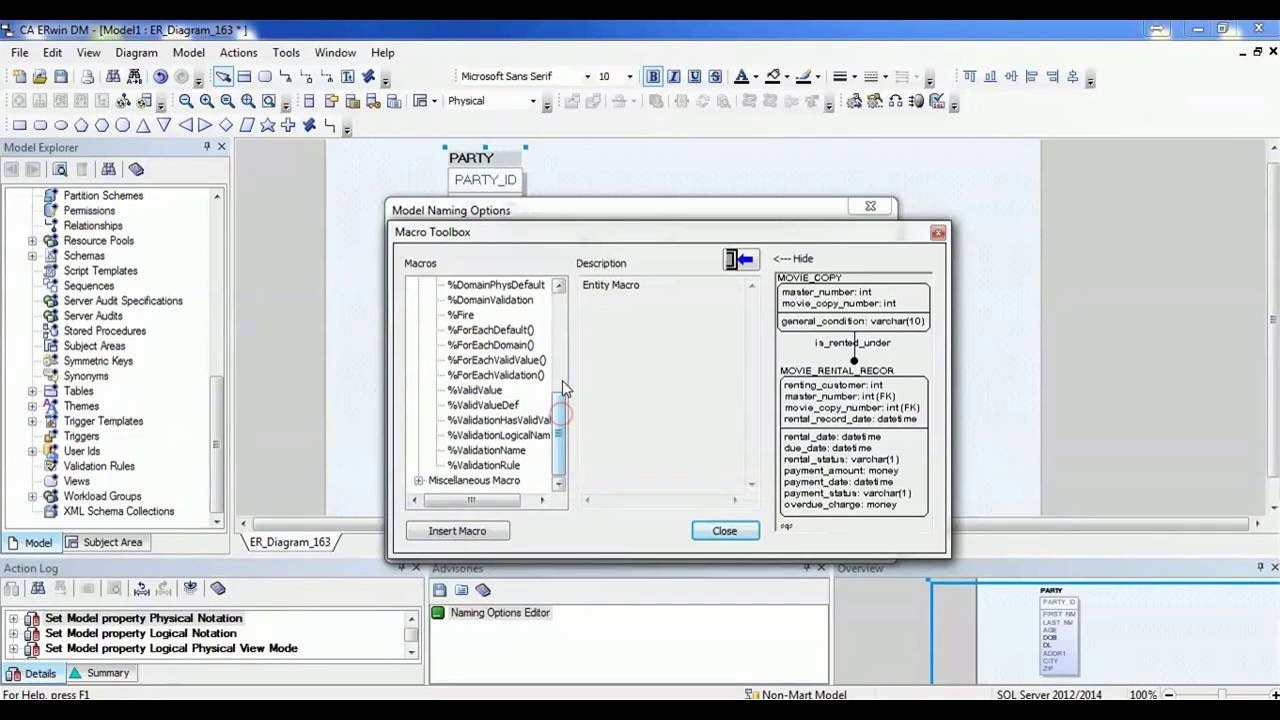 ERwin Data Modeler r7.3.8.2235 SP2