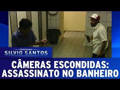 Câmera Escondida (21/08/16) - Assassinato no Banheiro