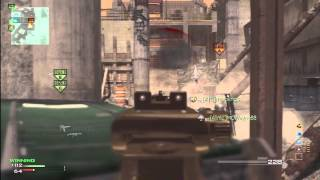 MW3: #11 MOAB With Every gun - MP7(Mw3 Gameplay)