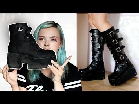 Как называются высокие туфли