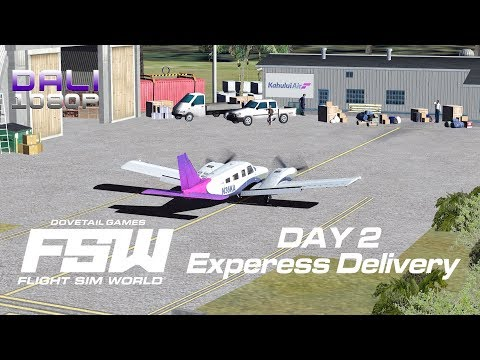Flight Sim World: Kahului Air Mission Pack - Day 2 - Express Delivery