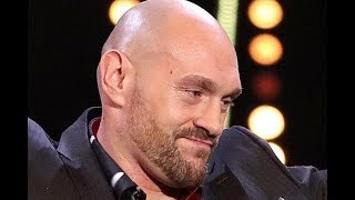 Tyson Fury in emotional BBC Sports Personality of the Year speech about battle with mental