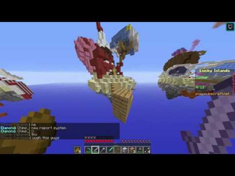 Cubecraft lucky islands hacker