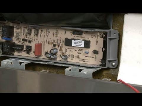 kitchen aid dishwasher repair modern appliances kenmore elite blinking light control board fix ...