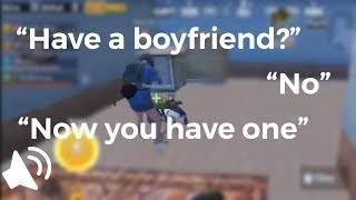 Rumor has it that people will find true love in game.. | PUBG Mobile