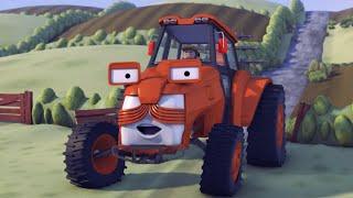 Олли Веселый грузовичок - Мультфильм про машинки - Серия 28 - Современный трактор (Full HD)