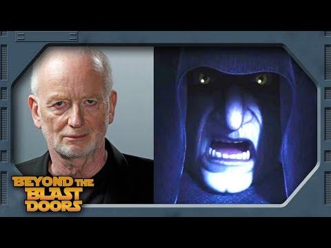 Ian McDiarmid, the Emporer in Star Wars Rebels Season 4  Beyond The Blast Doors