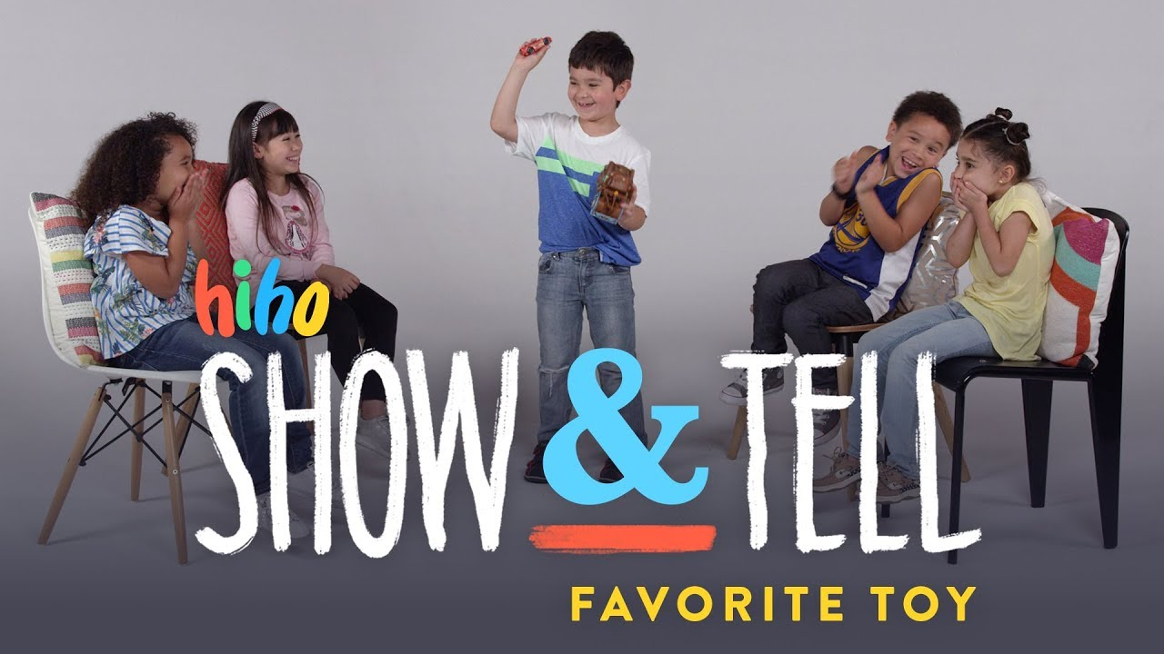 What Makes A Kids Favorite Toy : Kids show and tell favorite toy hiho