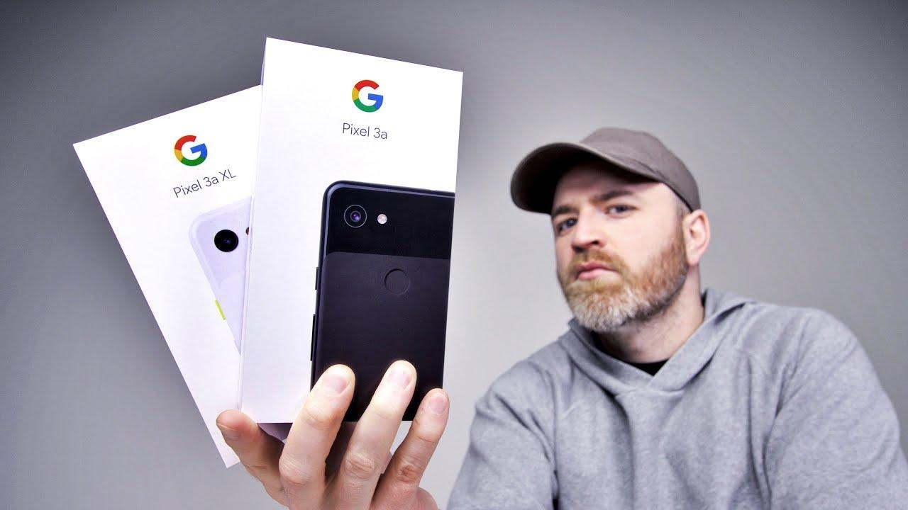 Google Pixel 3a Unboxing