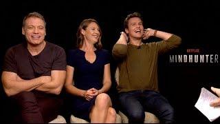 MINDHUNTER Netflix interviews - Jonathan Groff, Holt McCallany, Anna Torv
