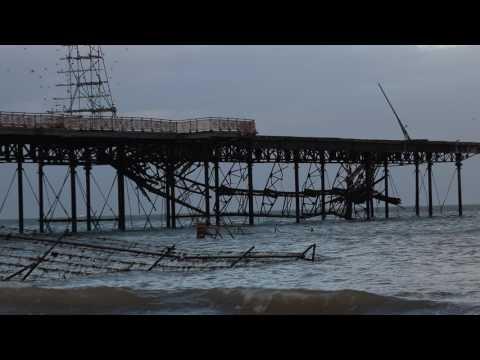 Colwyn Bay's Victoria Pier Disaster 01/02/2017