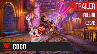 Coco (2018) - Full HD trailer #2 - český dabing