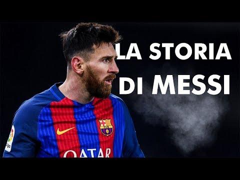 La storia di Messi