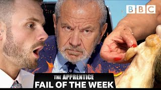 FAIL OF THE WEEK: Candidates fall apart over Maltese octopus I The Apprentice  - BBC