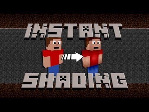 How to add shader to your minecraft skin youtube for Minecraft shade template