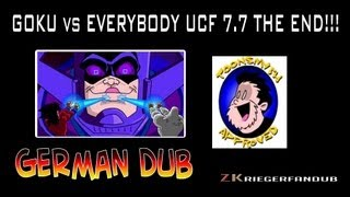 Gambar cover GOKU vs EVERYBODY UCF7.7 THE END!!! [Official German Dub]