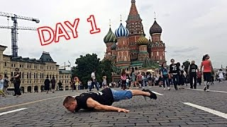 Street Workout Championship Moscow 2016 (Day 1)
