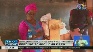 Taveta school keeping children in school by feeding them and monitoring their health