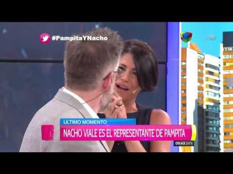 Nacho Viale es el nuevo representante de Pampita y ya hace que gane en dólares