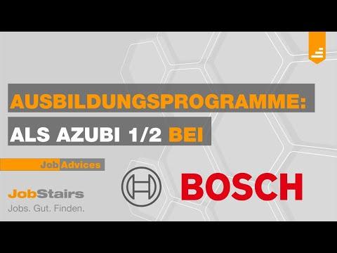 Als Azubi bei... Robert Bosch GmbH (Teil 1)