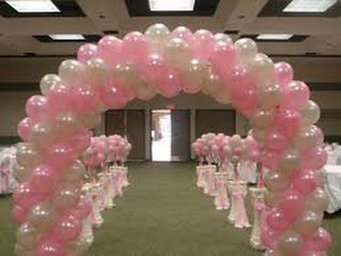 Como hacer arcos de globos youtube for Decoracion de globos para fiestas infantiles paso a paso