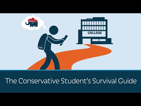 The Conservative Student's Survival Guide from YouTube · High Definition · Duration:  4 minutes 59 seconds  · 797.000+ views · uploaded on 25.08.2016 · uploaded by PragerU