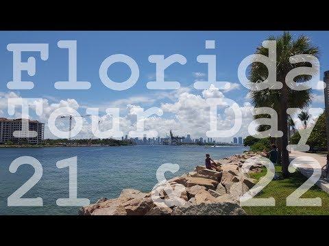Florida Tour 2017 - Day 21 & 22 of 22 Days - Miami Beach - Ocean Drive - Rental Car Return